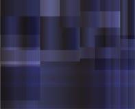 Fond bleu-foncé abstrait, illustration de vecteur Photo stock
