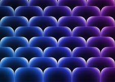 Fond bleu-foncé de vecteur avec les places bleues transparentes Images libres de droits