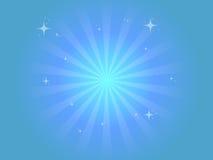 Fond bleu frais Photo libre de droits