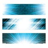 Fond bleu futuriste abstrait illustration de vecteur