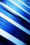 Fond bleu géométrique Images libres de droits