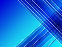 Fond bleu géométrique abstrait Photo libre de droits