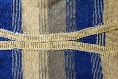Fond bleu gris du morceau de tissu de laine d'habillement Images stock