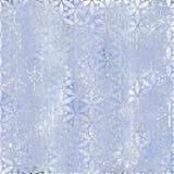 Fond bleu hivernal de glace Images libres de droits