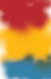 Fond bleu jaune rouge Image libre de droits