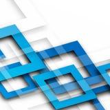 Fond bleu lumineux de résumé avec des places illustration libre de droits