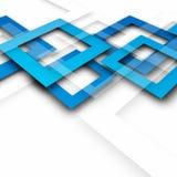 Fond bleu lumineux de résumé avec des places illustration de vecteur