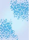 Fond bleu mou abstrait Photographie stock libre de droits