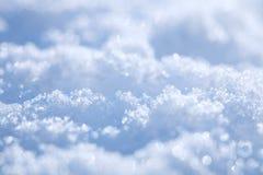 Fond bleu pertinent de neige photo libre de droits