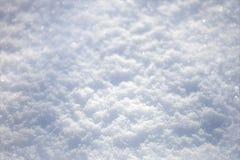 Fond bleu pertinent de neige, orientation très minuscule photos stock