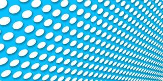 Fond bleu pointillé Photo stock