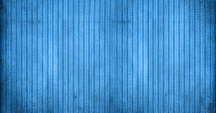 Fond bleu rayé Images libres de droits