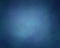 Fond bleu solide avec la texture de vintage et la frontière noire de vignette illustration libre de droits