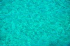 Fond bleu vert de mer Images libres de droits
