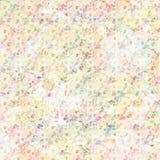 Fond botanique floral de ressort de vintage dans des couleurs en pastel douces illustration de vecteur