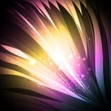 Fond brillant abstrait Image libre de droits