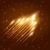 Fond brillant abstrait de météore illustration stock