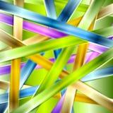Fond brillant coloré de vecteur de rayures Photographie stock