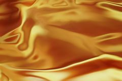Fond brillant d'or liquide photographie stock