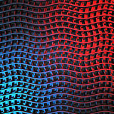 Fond brillant de rayure bleue de vague d'élégance Photographie stock libre de droits