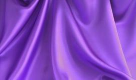 Fond brillant de tissu de satin Image libre de droits