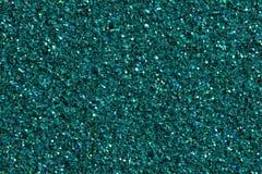Fond brillant de turquoise foncée avec le scintillement image libre de droits