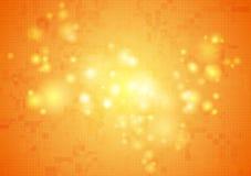 Fond brillant de vecteur de technologie abstraite Image stock