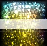 Fond brillant lumineux Image libre de droits