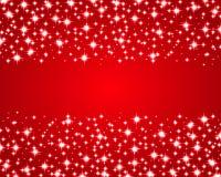 Fond brillant rouge de Noël Image libre de droits