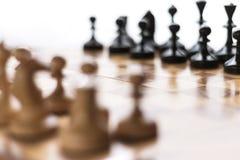 Fond brouillé d'échecs photo libre de droits