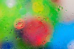 Fond brouillé de bulles Photo stock