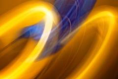 Fond brouillé de flamme coloré par résumé photographie stock