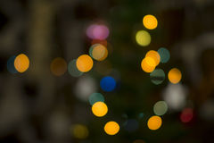Fond brouillé de Noël Image stock