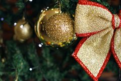 Fond brouillé de Noël, backgro abstrait brouillé de Noël image stock