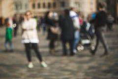 Fond brouillé de personnes photo libre de droits