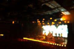 Fond brouillé de photo, concert de musique de la vie photo libre de droits