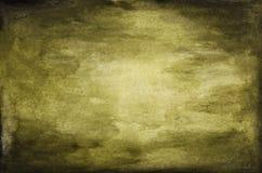 Fond brouillé de vert de cru, fond abstrait vert-foncé de texture d'aquarelle illustration libre de droits