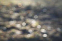 Fond brouillé des lumières grises photographie stock