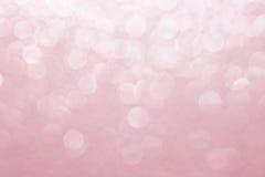 Fond brouillé par abstrait Fond rose Couleur de quartz de Rose, fond de couleur de tendance Images libres de droits
