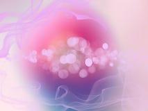 Fond brouillé par résumé beige de rose de bleu de turquoise Photos libres de droits