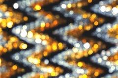 Fond brouill? de bokeh avec les lumi?res color?es chaudes photographie stock libre de droits