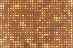 Fond brun abstrait de cercle Images libres de droits
