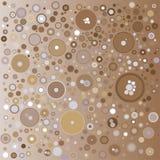 Fond brun artistique Photo libre de droits