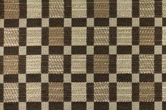 Fond brun clair avec les modèles géométriques Images libres de droits