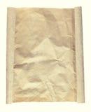 Fond brun de papier Image libre de droits