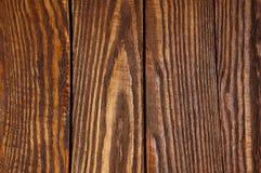 Fond brun en bois Photos libres de droits