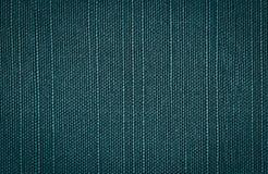 Fond brut de toile de vert bleu Photographie stock