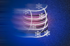 Fond bruyant et trouble sans couture abstrait de vacances avec des symboles d'hiver Images stock