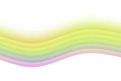 Fond calmant d'abrégé sur arc-en-ciel de zen illustration de vecteur