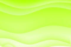 Fond calmant ondulé vert abstrait illustration stock
